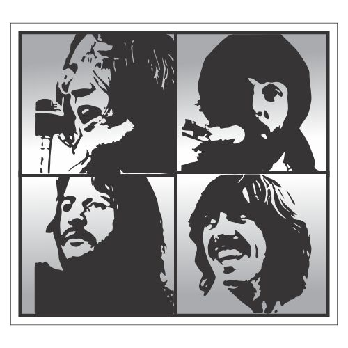 beatles stencil by heinpold - photo #23