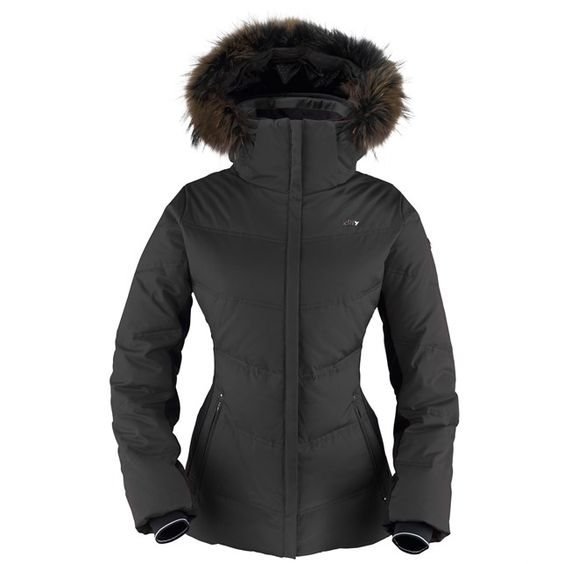 Killy Nymphe Women&39s Fur Jacket in Black |Waterproof | Breathable
