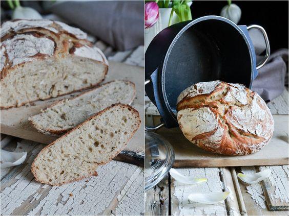 Christina macht was: No Knead Bread – Brot im Topf gebacken