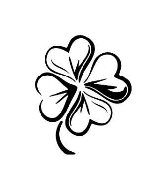 pochoir tatouage temporaire trefle z 336 383 tatouage pinterest. Black Bedroom Furniture Sets. Home Design Ideas