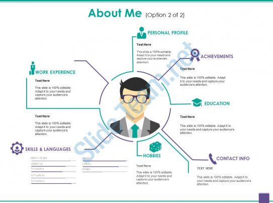 About Me Good Ppt Example Slide01 Powerpoint Presentation