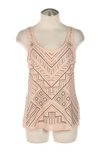 Perfect tank for going out! Rhinestone Tribal Tank #dressy #tank