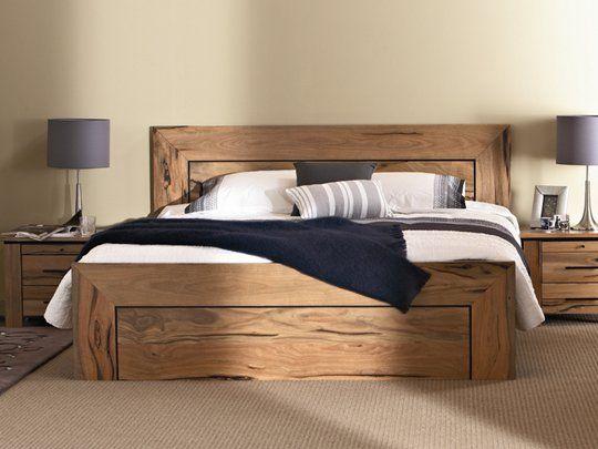 Bunbury Queen Bed Frame Storage drawer options Made from veneer