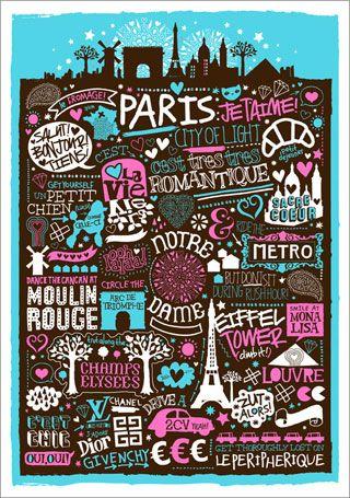 Une autre Paris poster.  oui, oui!