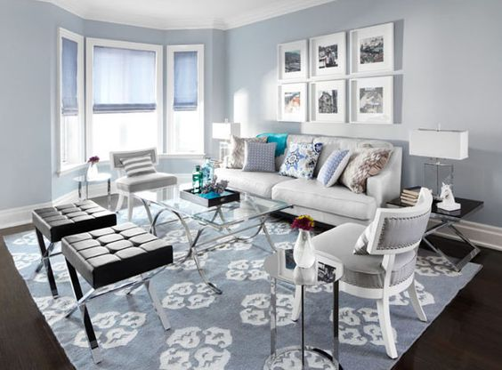 Living room design by Lux Design IN.  Photo by lisa patrole.  This is the colour of my living room.