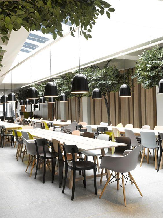 Los bosques noruegos inspiran al estudio londinense Haptic en el diseño del Quality Expo Hotel de Oslo. | diariodesign.com