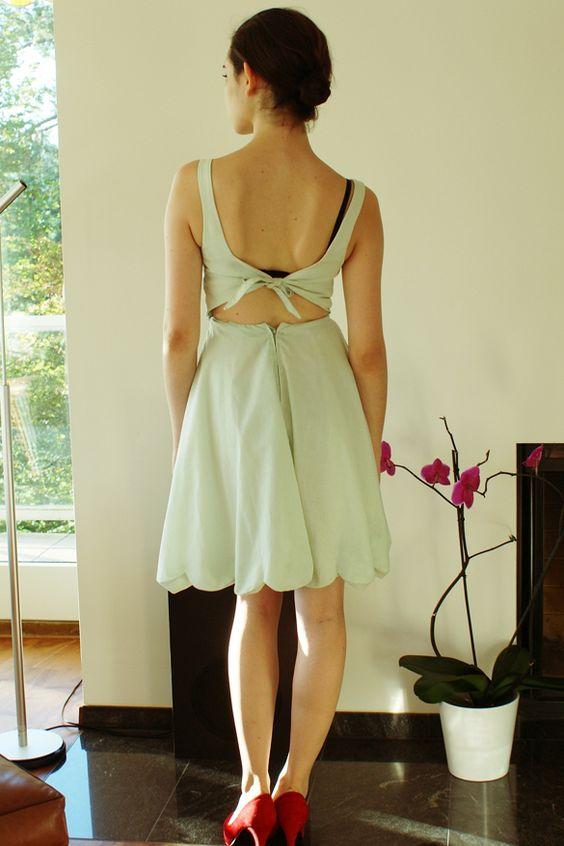 mint dress | Mad Girls Prefer Pretty Dresses