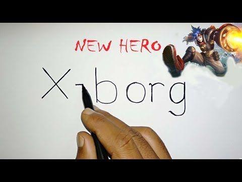 Amazing Cara Menggambar X Borg New Hero Mobile Legends