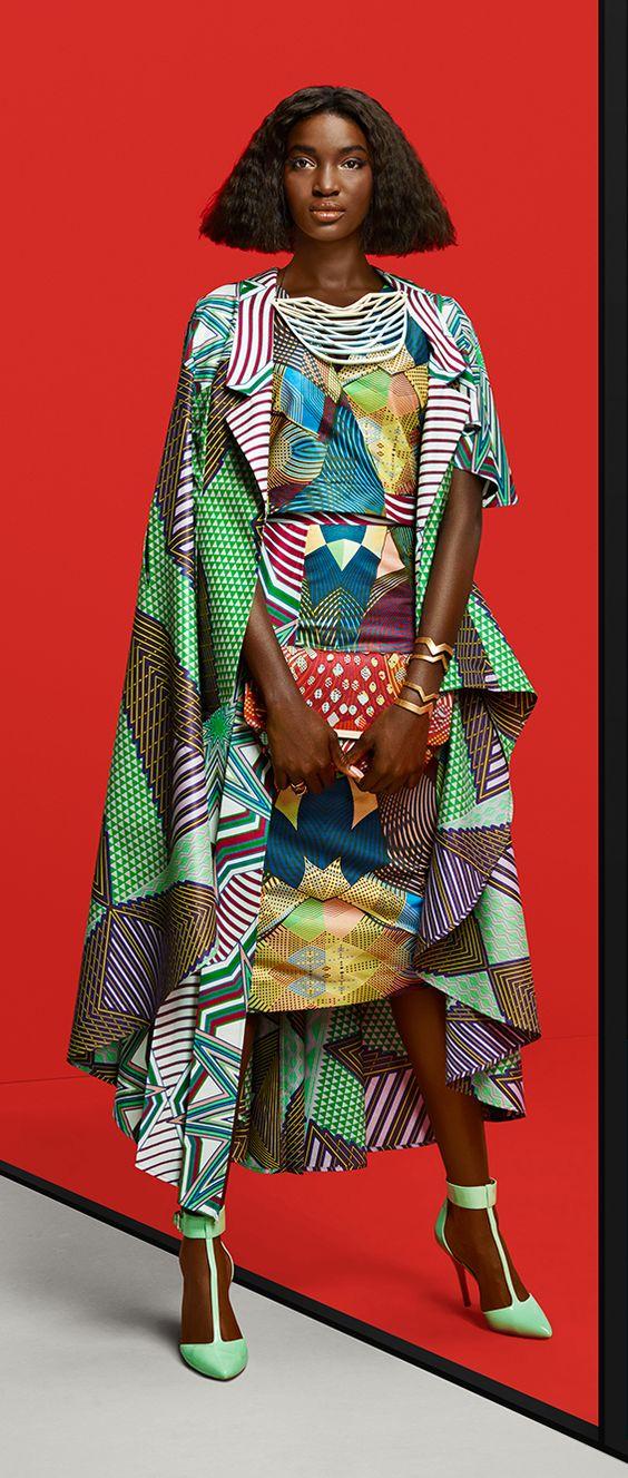Vlisco Dutch Wax collection ~African fashion, Ankara, kitenge, Kente, African prints, Senegal fashion, Kenya fashion, Nigerian fashion, Ghanaian fashion ~DKK