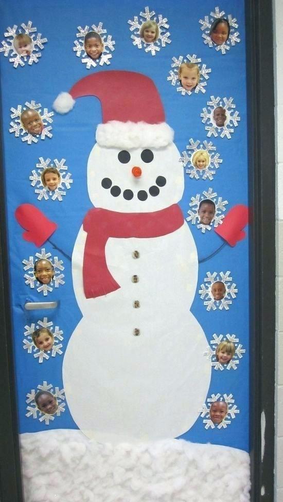 Winter Door Decorating Ideas Winter Classroom Door