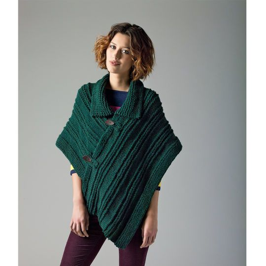 Beginner Knitting Poncho : Lion s pride woolspun ideas para and