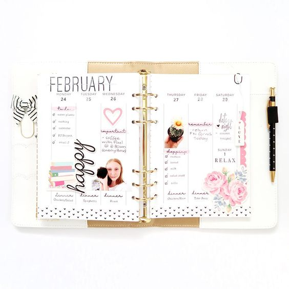 Felicity Jane Note to Self | Everyday Moments Planner Pages