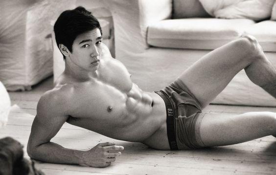 Sexy asians White gay