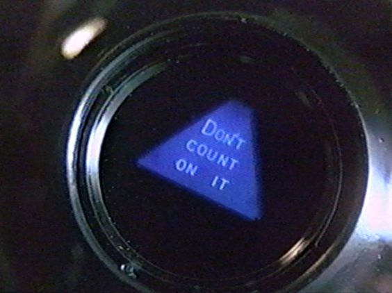 Magic 8 Ball - Don't Count On It