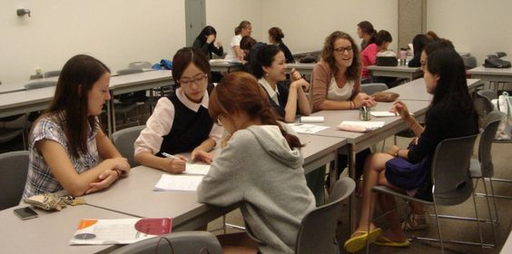 University job South Korea from Overseas?