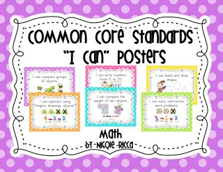 8 Mathematical Practices I Can Posters | ... for some common core i can posters you can find my matching set here