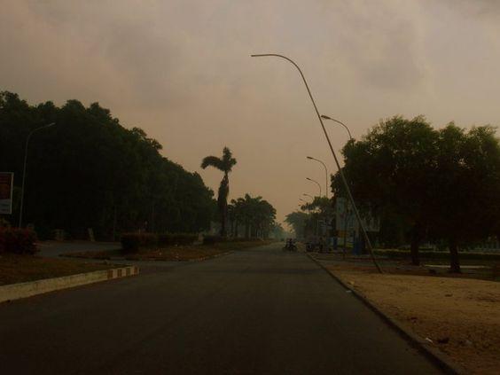 Benin, Africa 2011, december