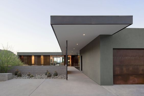Modern Desert Homes By Erika Heet From Levin Residence With