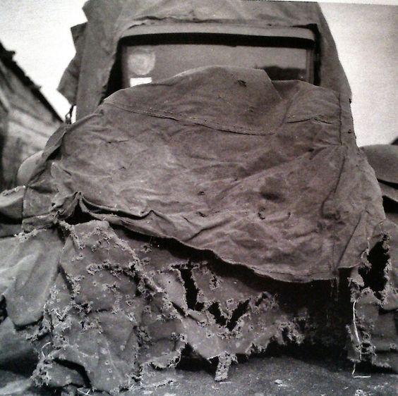 Car with Tarpaulin, Robert Rauschemberg, 1951