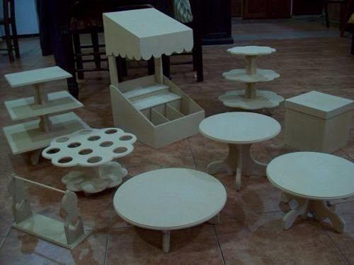 Bases de madera para mesa de dulces 756101 mlm20282458375 - Pintura base para madera ...