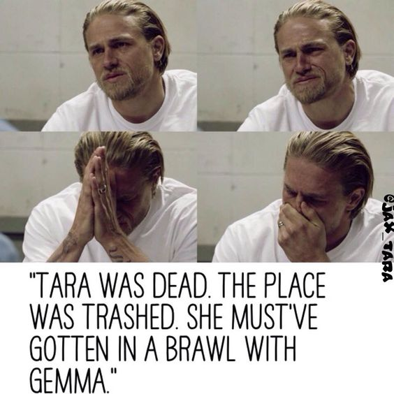 Charlie Hunnam - Jax learning the truth. What an amazing actor. #soa