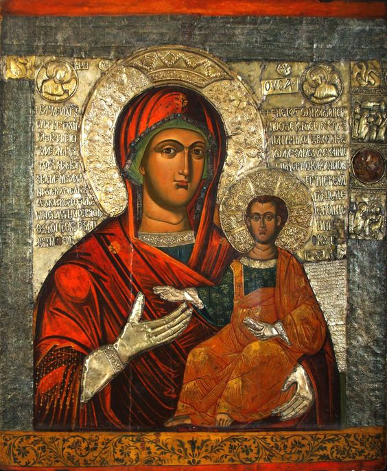 Icon of Holy Virgin Merciful - 1341/1342