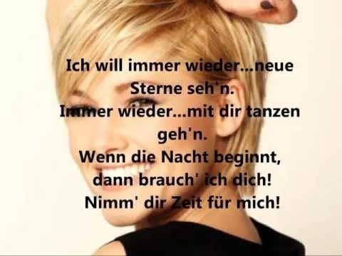 ▶ Helene Fischer-Ich will immer wieder...dieses Fieber spür'n (lyrics) - YouTube