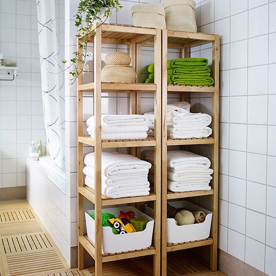 """Sometimes there's nothing nicer than an organized #bathroom."" Photo taken by @ikeausa on Instagram, pinned via the InstaPin iOS App! http://www.instapinapp.com (06/10/2015)"