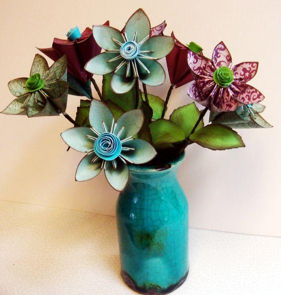 Paper Flower Arrangement Ideas: Pinterest €� The World's Catalog Of Ideas