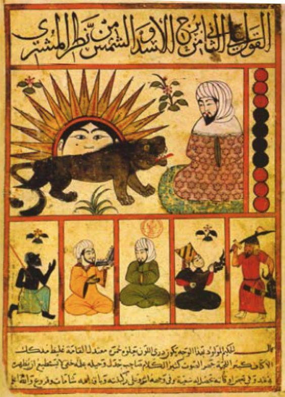 Qanbar Ali Shirazi Naqqash, ¿durante el sultanato mameluco de Egipto?