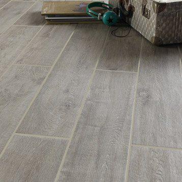 Carrelage int rieur toundra en gr s c rame maill gris for Carrelage interieur gris
