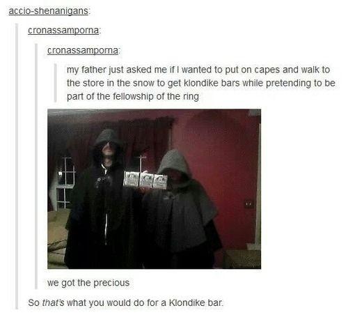 I'd do that for a Klondike bar! :-)