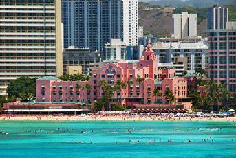 Waikiki's Royal Hawaiian Hotel