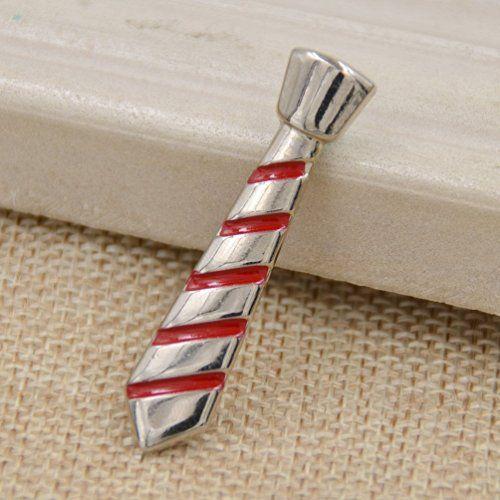 Amazon.com: Mens Novelty Necktie Shape Tie Clip Strip Alloy Tie Bar Clasp Clip…