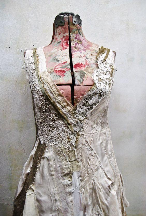 https://flic.kr/p/byXAbg | Sans titre | a custom wedding dress.. .in progress