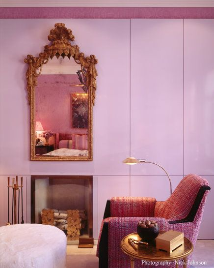 Jamie Drake bedroom.