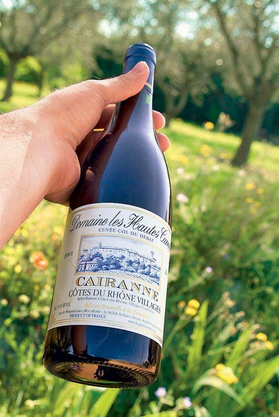 Domaine des Hautes Cances, cuvée Col du Débat, un excellent vin de garde
