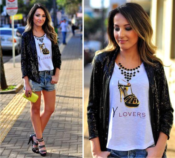 CHEIA DE FRESCURA: Looks com as t-shirts da Mariah Acessórios!