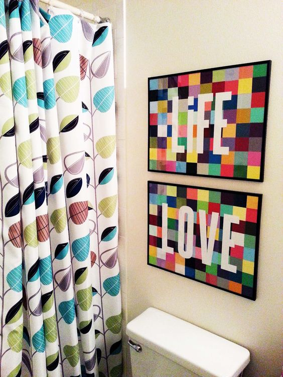 LIFE   LOVE: Paint Chip Art