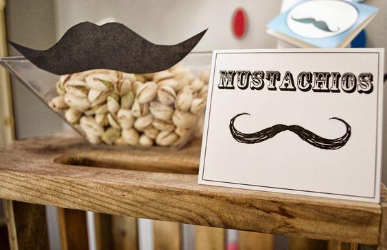 Mustache Party Menu | Mustache Bash! | Parties Adorned