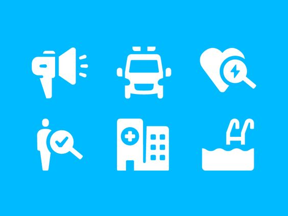 MedAboutMe Icons #icondesign #glyph