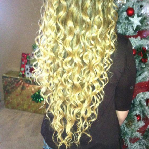 Long curls!