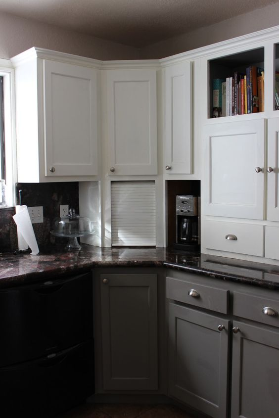 two tone kitchen cabinet update kitchen ideas