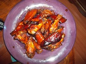 Rambling Thoughts: The Best Sweet Chicken Wings