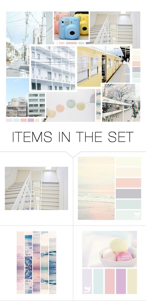 """Pastel Problems"" by cmarnoldrr ❤ liked on Polyvore featuring art"