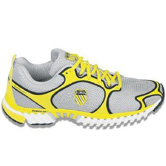 K-Swiss Kwicky Blade Light Shoes (Silver/Yellow/Black) - Men's Shoes - 9.5 M