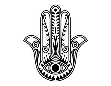simple hamsa colouring pages mano de fatima pinterest amarillo google y fondos. Black Bedroom Furniture Sets. Home Design Ideas
