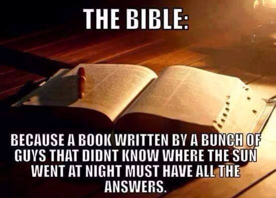 How do we know that the people who wrote the bible weren't delusional?