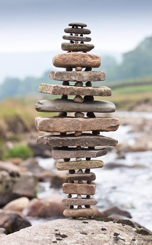: Rock Sculpture, Stacked Rocks, Landart, Land Art, Stone Sculpture