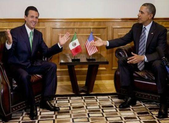 """Indignación en la Casa Blanca: EPN bromea con Obama y lo llama """"Baltasar"""""""